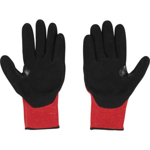 Milwaukee Impact Cut Level 3 XL Unisex Nitrile Dipped Work Gloves